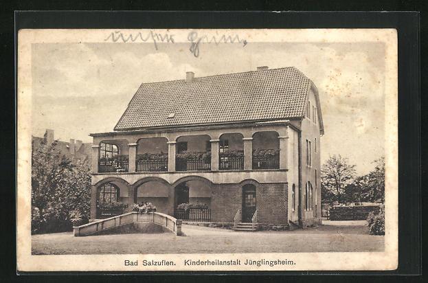 AK Bad Salzuflen, Kinderheilanstalt Jünglingsheim