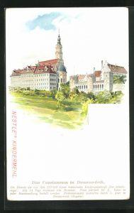 Lithographie Donauwörth, Das Cassianeum, Nestle`s Kindermehl