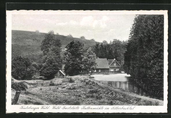 AK Horn-Bad Meinberg, Waldgaststätte Kattenmühle im Silberbachtal