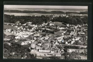 AK Altenstadt / Iller, Luftbild des Ortes
