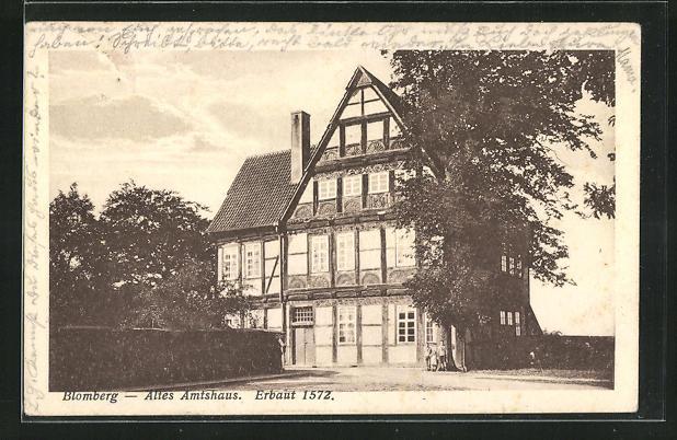 AK Blomberg, altes Amtshaus