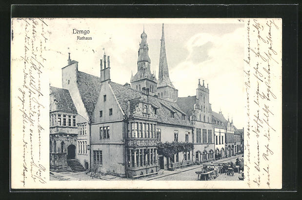 AK Lemgo, Blick auf das Rathaus
