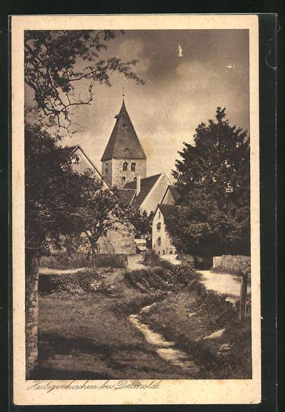 AK Heiligenkirchen, Teilansicht