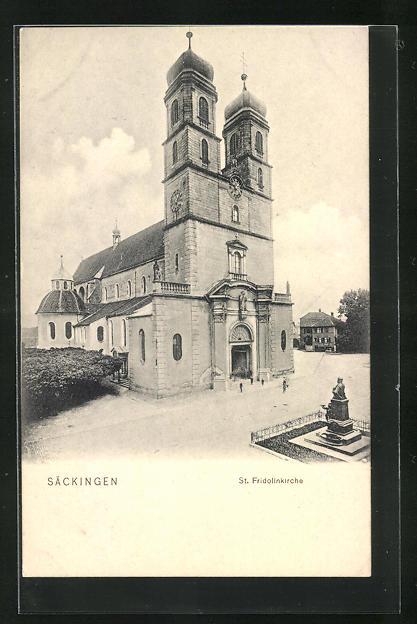 AK Säckingen, St. Fridolinkirche