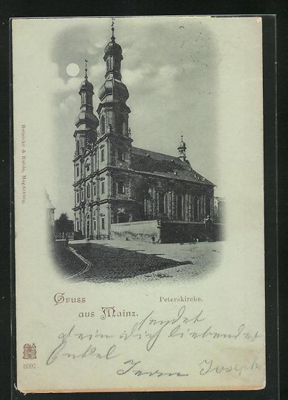 Mondschein-AK Mainz, Peterskirche
