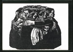 Künstler-AK Käthe Kollwitz: Die Mütter