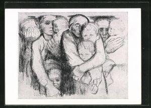 Künstler-AK Käthe Kollwitz: Die Mutter