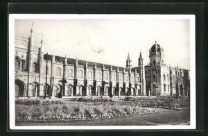 AK Lisboa, Fachada principal do mosteiro dos
