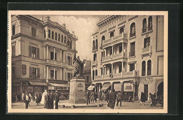 AK Tunis, Place Lavigerie