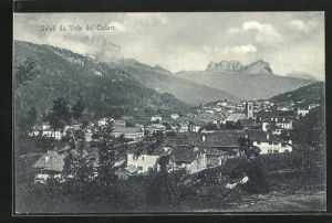 AK Vodo Cadore, Panoramablick vom Berg