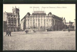 AK Madrid, Plaza de Canovas y Place Hotel