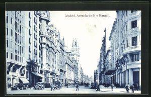 AK Madrid, Avenida de Pi y Margall