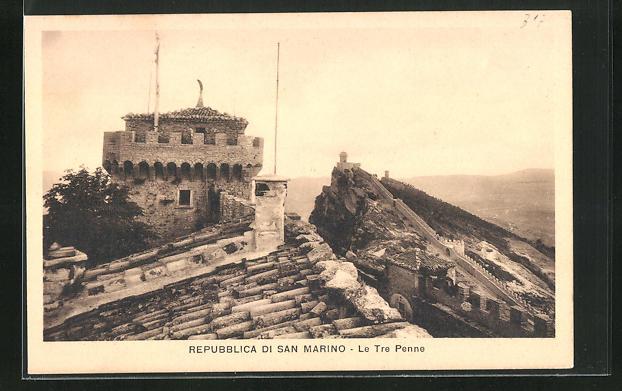 AK San Marino, Le Tre Penne