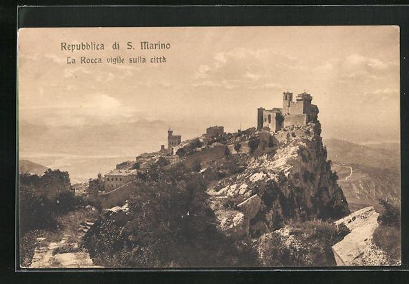 AK San Marino, La Rocca vigile sulla citta