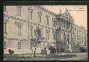 AK Madrid, Biblioteca Nacional