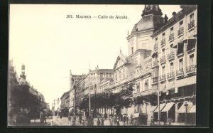 AK Madrid, Calle de Alcala