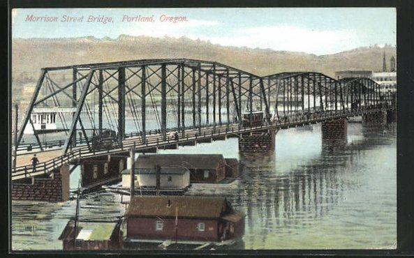 AK Portlana, OR, Morrison Street Bridge