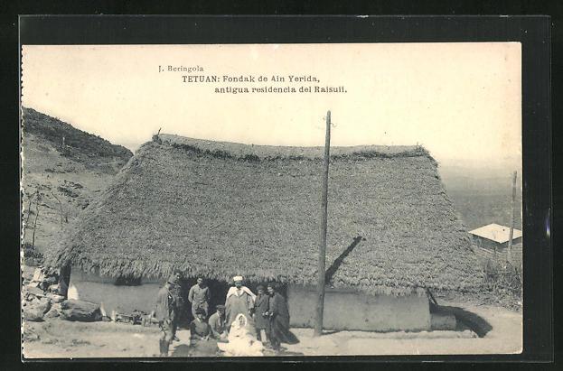 AK Tetuan, Fondak de Ain Yerida, Antigua residencia del Raisuii