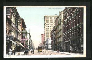 AK Memphis, TN, Main Street