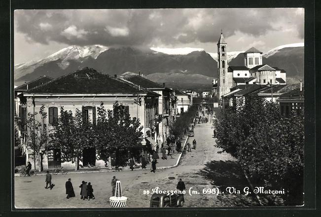AK Avenzzano, Via G. Marconi