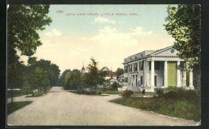 AK Little Rock, AR, 18th and Arch, Eckfassade