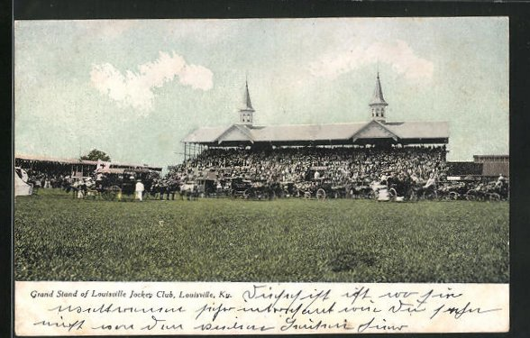 AK Louisville, KY, Grand Stand of Louisville Jockey Club
