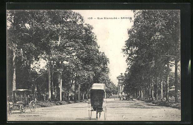 AK Saigon, Rue Blansube