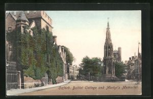 AK Oxford, Balliot College and Martyr`s Memorial