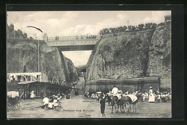AK Margate, Newgate Gap