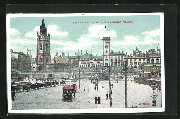 AK Liverpool, From The Landing Stage, Curch