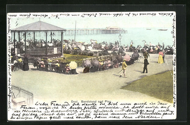 AK Deal, Bandstand and Pier