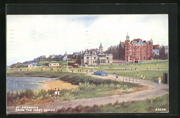 AK St. Andrews, From the West Sands, Uferpartie