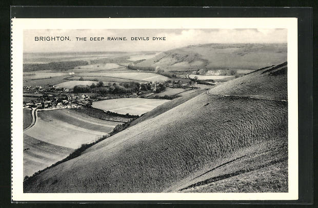 AK Brighton, The Deep Ravine, Devils Dyke