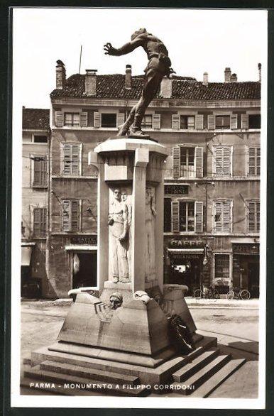 AK Parma, Monumento a Filippo Corridoni