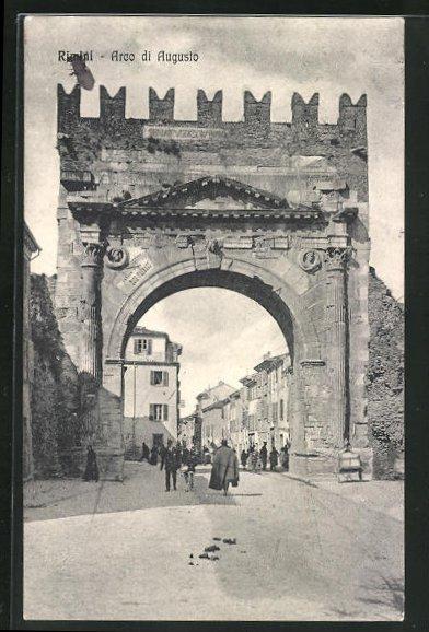 AK Rimini, Arco di Augusto
