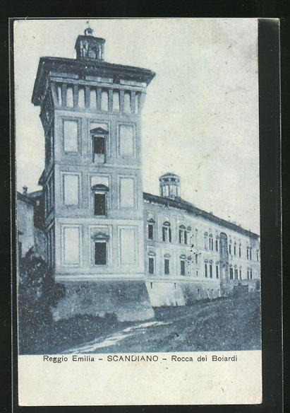 AK Scandiano, Rocca dei Boiardi