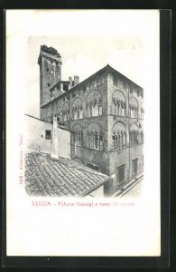 Passepartout-AK Lucca, Palazzo Guinigi e torre
