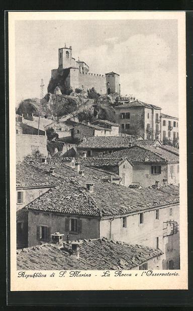 AK San Marino, La Rocca e l`Osservatorio