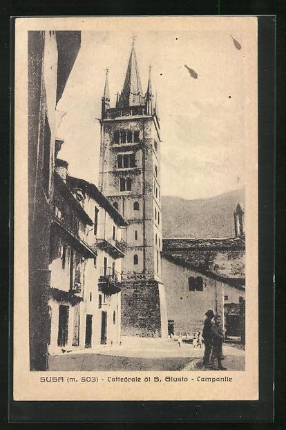 AK Susa, Cattedrale di S. Giusto, Campanile