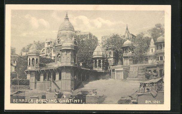 AK Benares, Burning Ghat