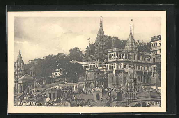 AK Benares, Monukornika Ghat