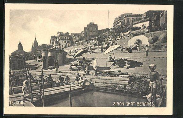 AK Benares, Sindh Ghat