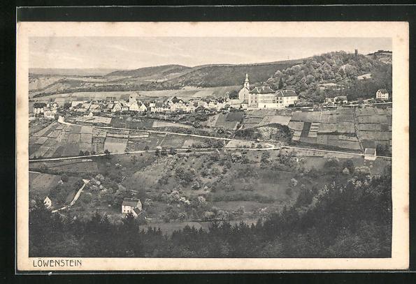 AK Löwenstein, Gesamtansicht des Ortes