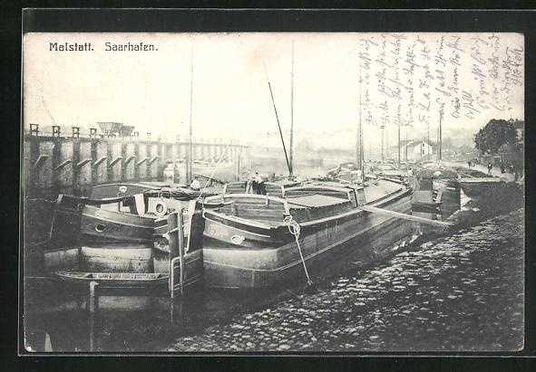 AK Malstatt, Partie im Saarhafen