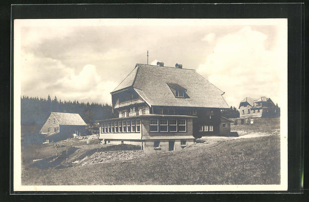 AK Schönwald / Baden, Schwarzwaldheim Ludwig Frank