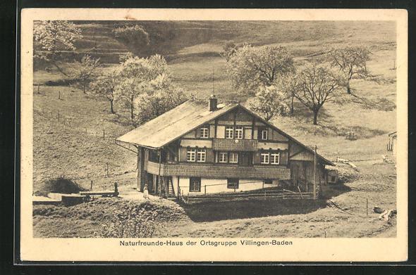 AK Bühl i. Baden, Naturfreundehaus der Ortsgruppe Villingen-Baden