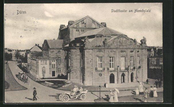 AK Düren, Stadttheater am Hoeschplatz