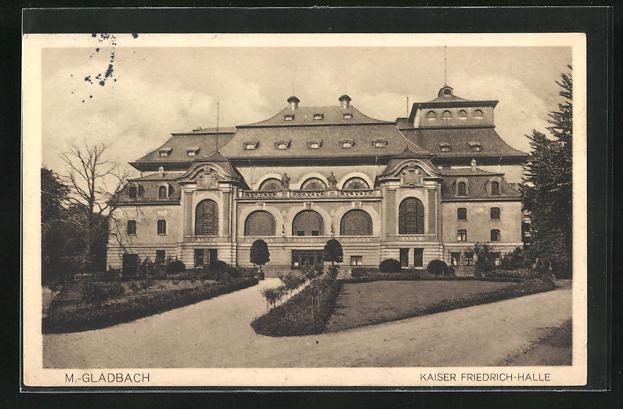 AK M.-Gladbach, Kaiser Friedrich-Halle