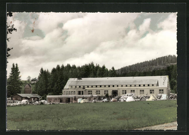 AK Schluchsee / Schw., Campinghotel Rappennest
