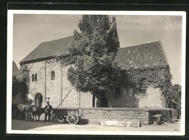AK Wimpfen am Berg, Kapelle, begonnen um 1200, mit gotischem Chor